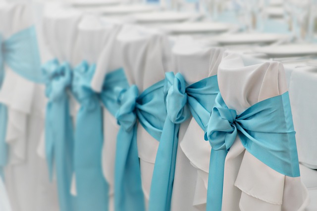 Dekoracje ślubne, dekorajce stołów